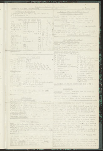 Bulletins (vnl. opstellingen) 1956-04-24