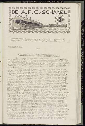 Schakels (clubbladen) 1941-05-22