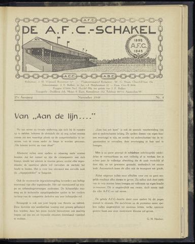 Schakels (clubbladen) 1948-11-01