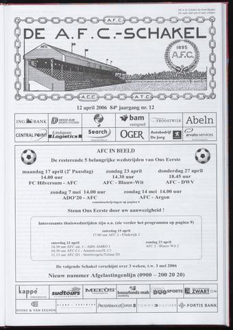 Schakels (clubbladen) 2006-04-12