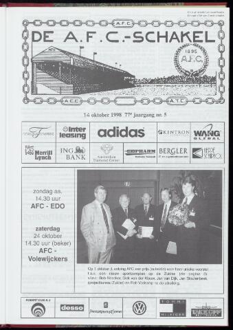Schakels (clubbladen) 1998-10-14