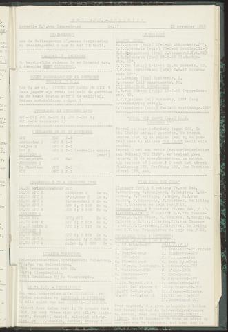 Bulletins (vnl. opstellingen) 1955-11-29