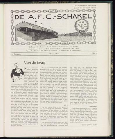 Schakels (clubbladen) 1963-10-01