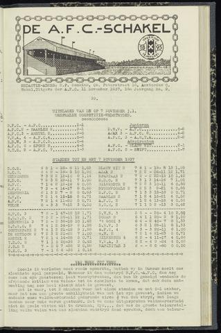 Schakels (clubbladen) 1937-11-11