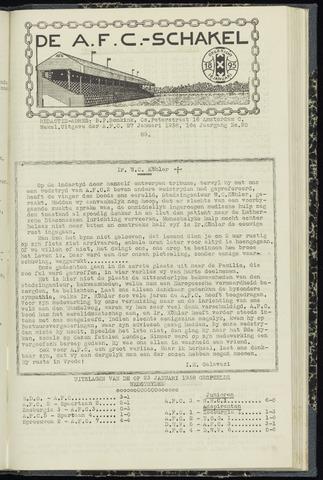 Schakels (clubbladen) 1938-01-27