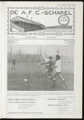 Schakels (clubbladen) 1979-04-04