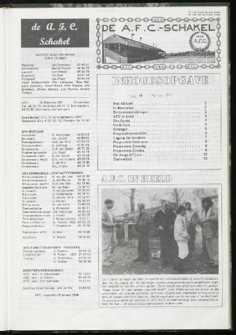 Schakels (clubbladen) 1985-10-16
