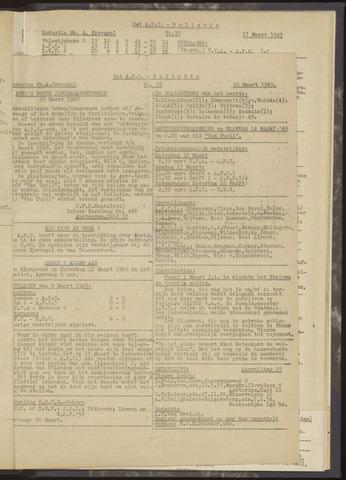 Bulletins (vnl. opstellingen) 1949-03-03
