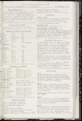 Bulletins (vnl. opstellingen) 1960-11-15