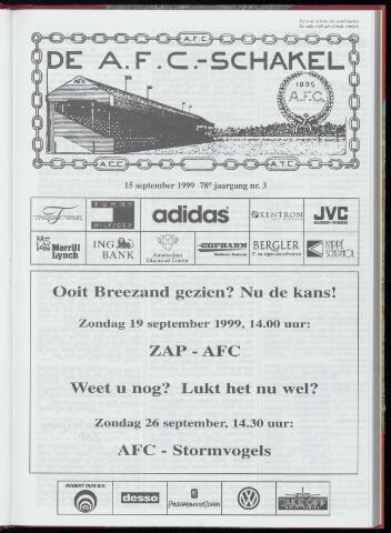 Schakels (clubbladen) 1999-09-15