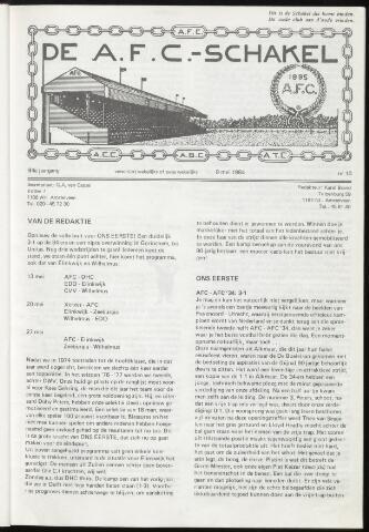 Schakels (clubbladen) 1984-05-09