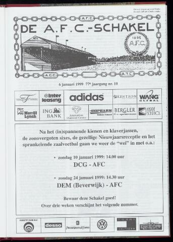 Schakels (clubbladen) 1999-01-06