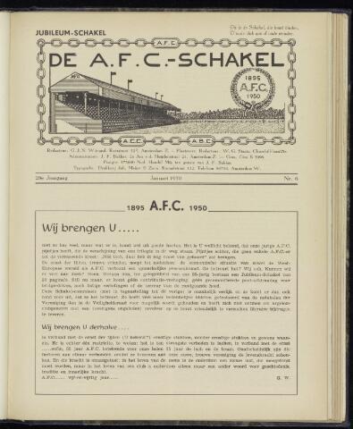 Schakels (clubbladen) 1950