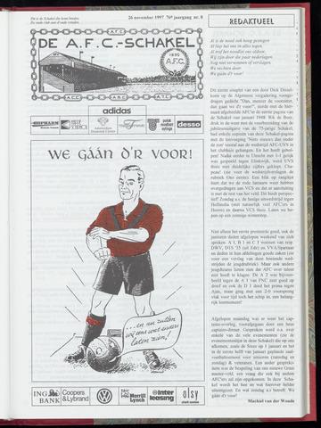 Schakels (clubbladen) 1997-11-26
