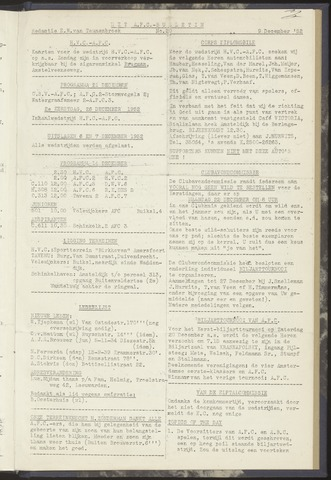 Bulletins (vnl. opstellingen) 1952-12-09