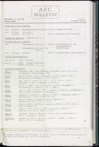 Bulletins (vnl. opstellingen) 1967-08-02