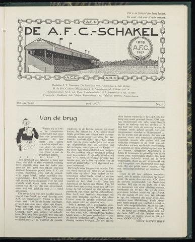 Schakels (clubbladen) 1967-05-01