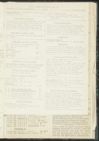 Bulletins (vnl. opstellingen) 1955-04-05