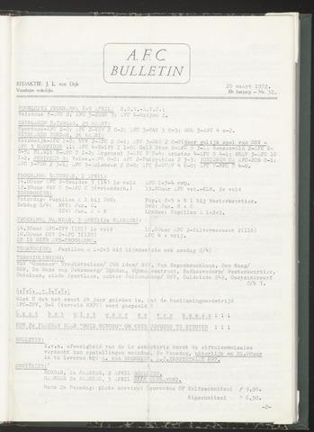Bulletins (vnl. opstellingen) 1972-03-29