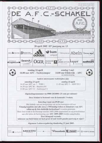 Schakels (clubbladen) 2005-04-20