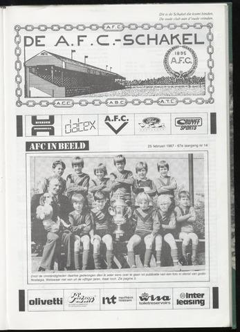 Schakels (clubbladen) 1987-02-25