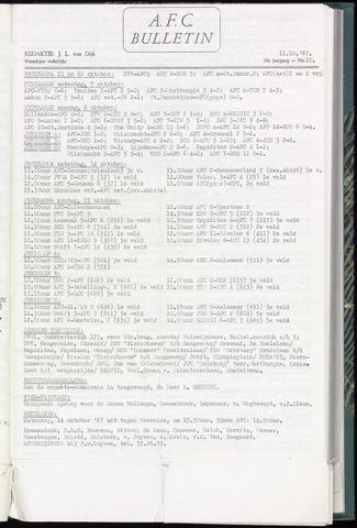 Bulletins (vnl. opstellingen) 1967-10-11
