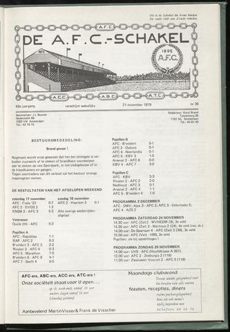 Schakels (clubbladen) 1979-11-21