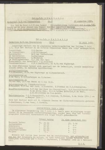 Bulletins (vnl. opstellingen) 1950-07-12