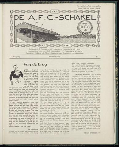 Schakels (clubbladen) 1963-11-01