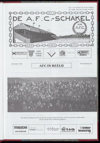 Schakels (clubbladen) 1992-10-28