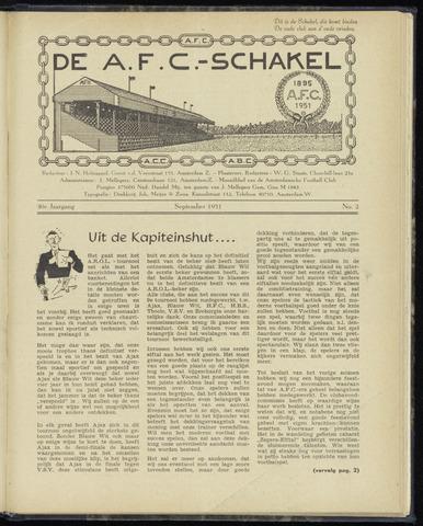 Schakels (clubbladen) 1951-09-01