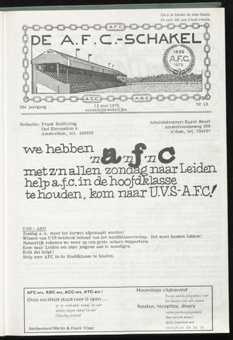 Schakels (clubbladen) 1976-05-05