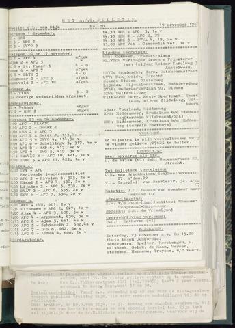 Bulletins (vnl. opstellingen) 1963-11-13