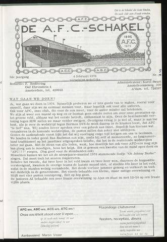 Schakels (clubbladen) 1976-02-04