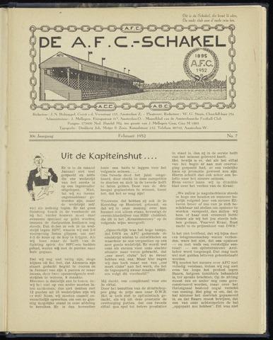 Schakels (clubbladen) 1952-02-01