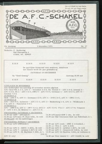 Schakels (clubbladen) 1975-12-02