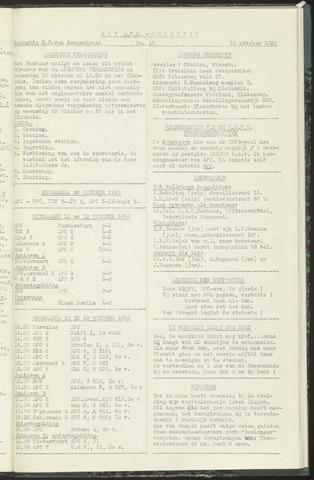 Bulletins (vnl. opstellingen) 1958-10-14