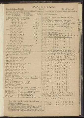 Bulletins (vnl. opstellingen) 1946-10-30