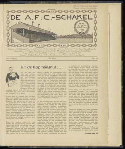 Schakels (clubbladen) 1952-05-01