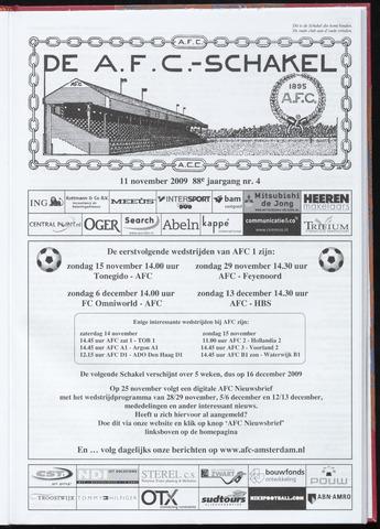Schakels (clubbladen) 2009-11-11