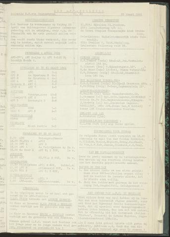 Bulletins (vnl. opstellingen) 1954-03-23