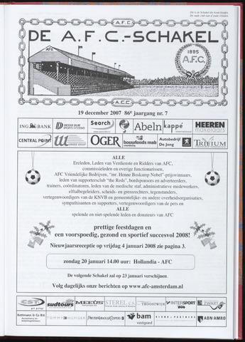 Schakels (clubbladen) 2007-12-19