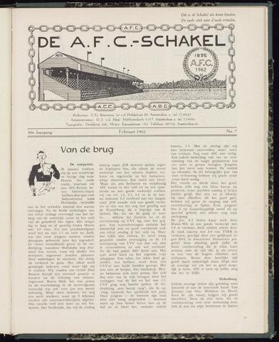 Schakels (clubbladen) 1962-02-01