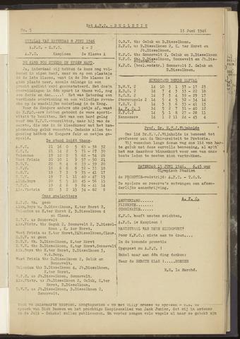 Bulletins (vnl. opstellingen) 1946-06-13