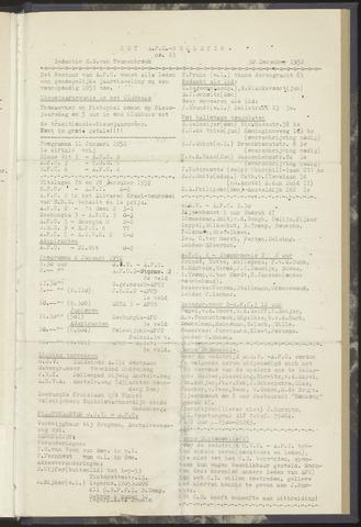 Bulletins (vnl. opstellingen) 1952-12-30