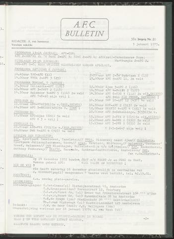 Bulletins (vnl. opstellingen) 1973-01-03