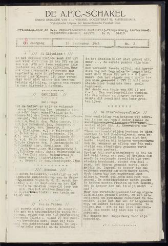 Schakels (clubbladen) 1943-09-16