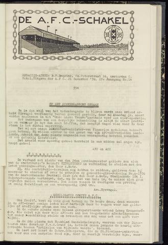 Schakels (clubbladen) 1939-12-21