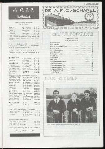 Schakels (clubbladen) 1985-11-06