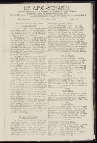Schakels (clubbladen) 1943-10-07